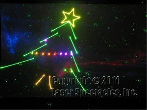 Laser Xmas Tree