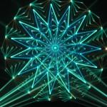 laser show oscilloscope