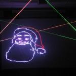 laser santa
