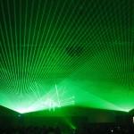 Laser Beams Sweep