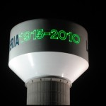 Lasers on a Water Tower
