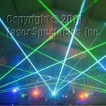 Blue Green beams