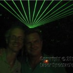Tim and Shawn w/lasers