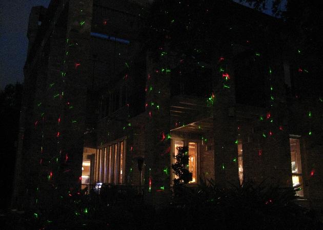 Laser Christmas Lights | Laser Spectacles, Inc.