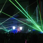 Lasers Dance
