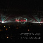 Laser graphics and beam projection