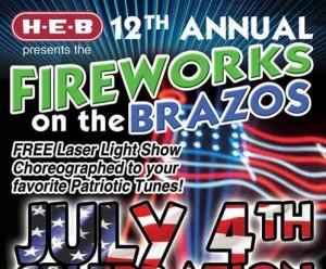Fireworks on the Brazos