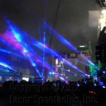 Blue Laser Show