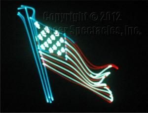 Laser Flag 1812