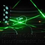 Laser show Texas