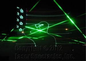 Laser Salute