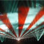 Laser Flag Wave
