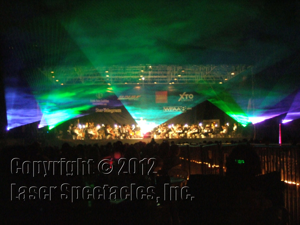 Fort Worth Symphony Lasers Laser Spectacles Inc
