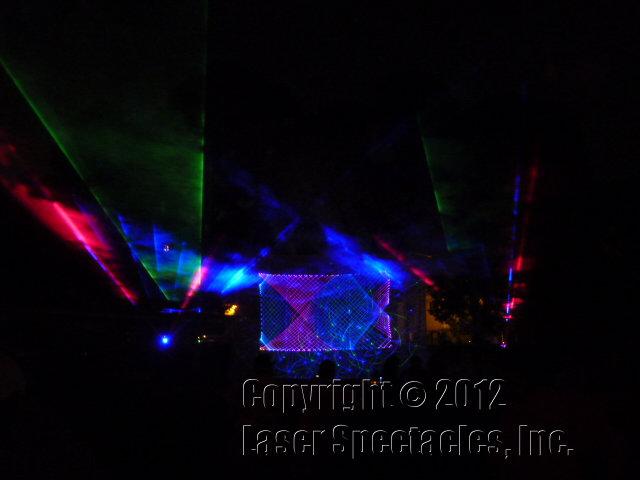 Tfea Opening Party Laser Show San Antonio 8 2 12 Laser