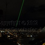Laser beacon from the roof