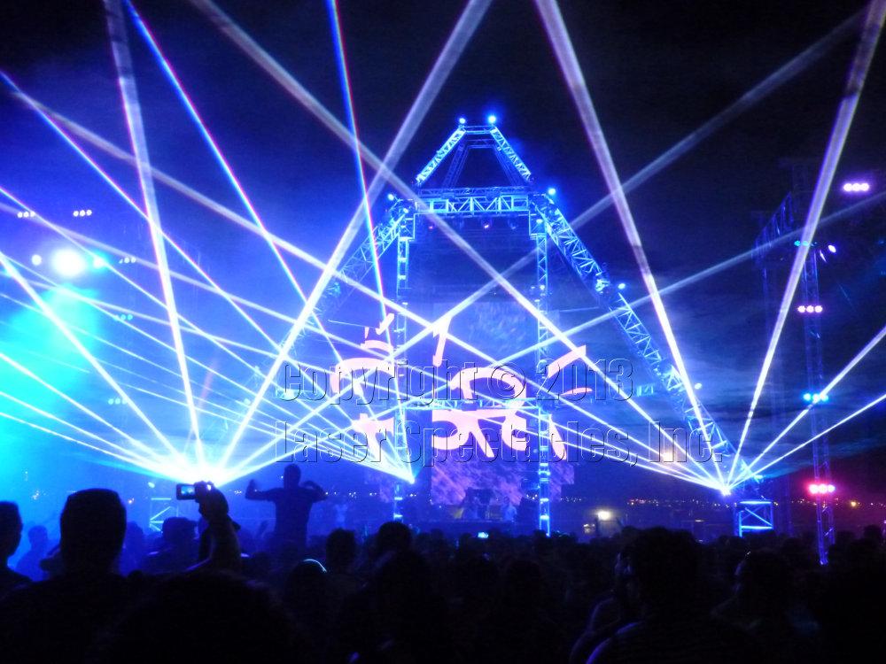 Sun City Music Festival Laser Show Laser Spectacles Inc
