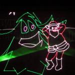 Laser Santa Mambo