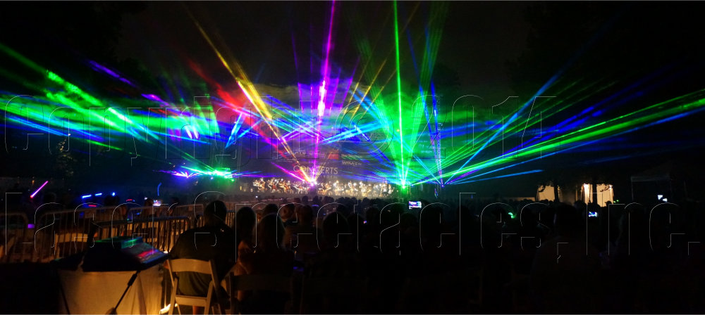 Fort Worth Symphony Laser Show Laser Spectacles Inc