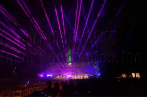 Symphnoy laser show