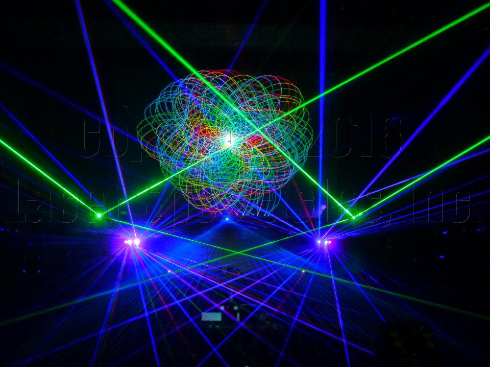 Urban 15 Holiday Laser Show 2016 In San Antonio Tx