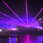 Lasers Over Water