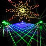 Laser Mandala Beams