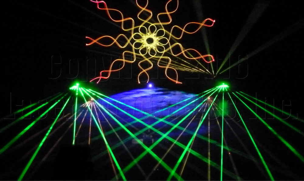 Laser Mandala Beams