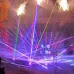 Laser and Fireworks