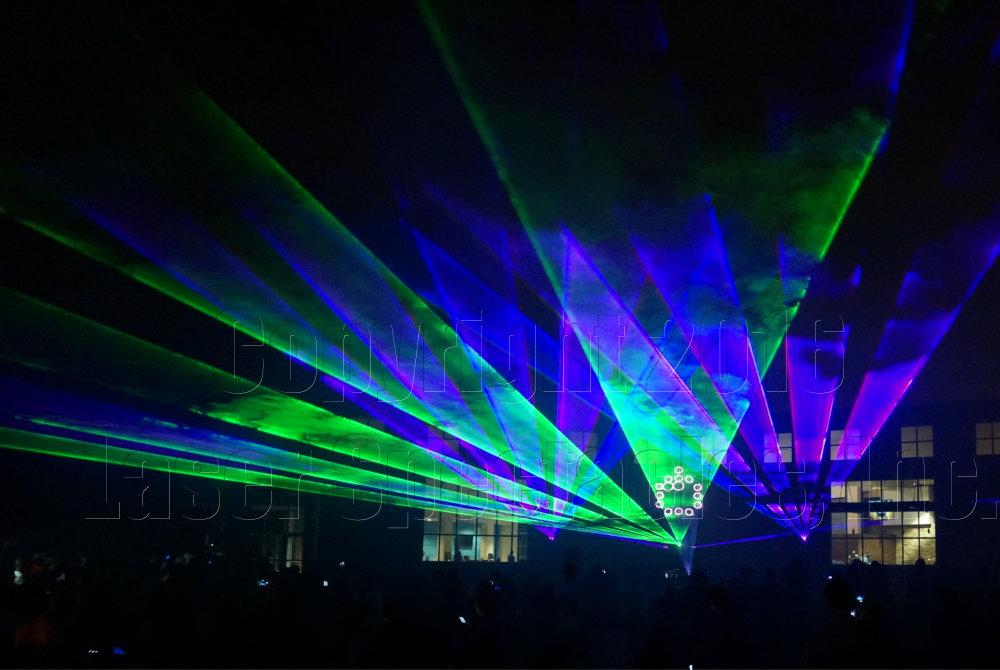 Fall Festival Laser Show