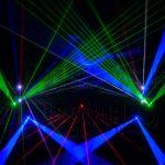 Laser lumia with Beams