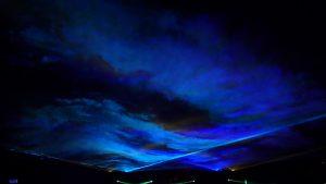 The Blue Wave laser effect