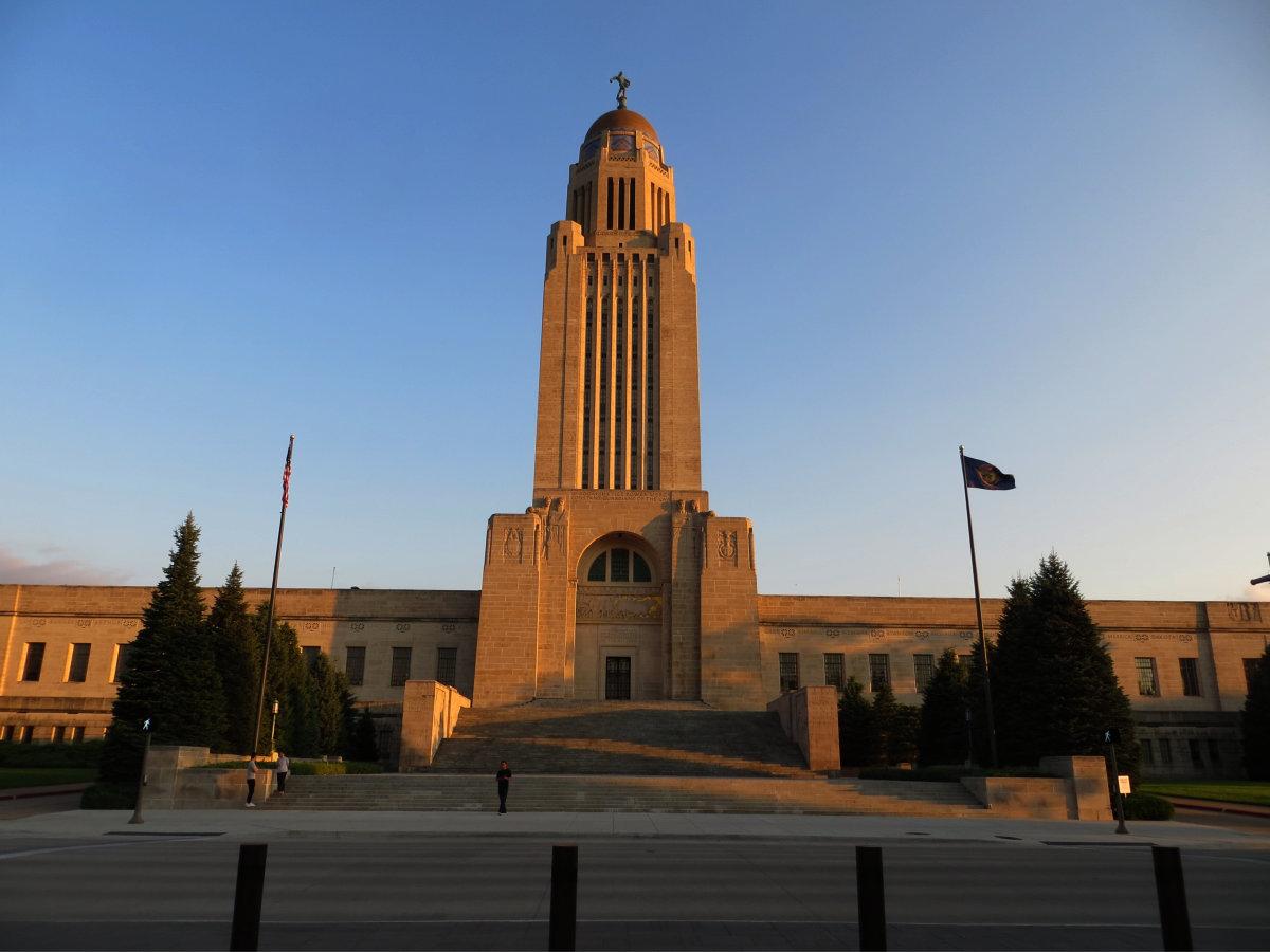 Laser Mapping The Nebraska State Capitol Building Laser
