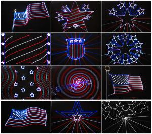 patriotic lasers