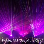 Day of the Child lasers