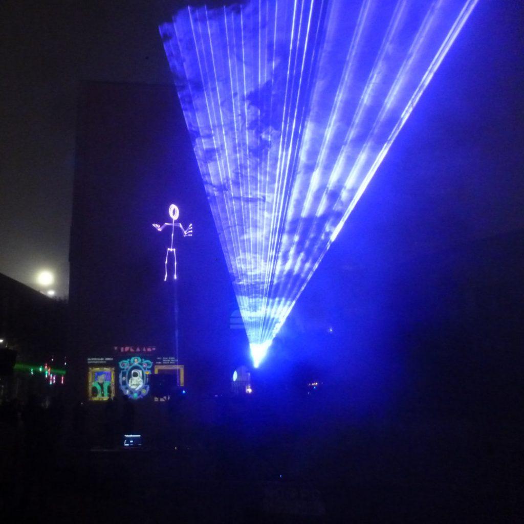 Laser Kinect