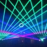 Keller laser beam show