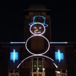 laser mapped snowman